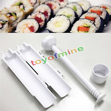 Sushi Bazooka Herramienta Sushi Roll Maker Cocina Gourmet Cooking Tube & Mold