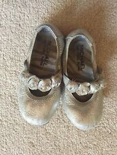 Michael Kors Silver children's shoes~ Size 9
