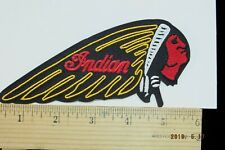 """Indian Motorcycle Embroidered Iron-on Embroidered Patch~6"""""""