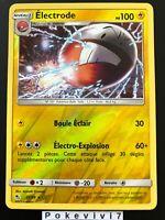 Carte Pokemon ELECTRODE 22/68 Rare REVERSE Soleil et Lune 11.5 SL11,5 FR NEUF