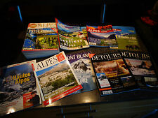 Lot 28 Magazines Alpes Loisirs Hautes Alpes Savoie Isère Vercors Chartreuse