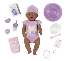 Zapf Creation Baby Born Interactive Ethnic Doll 9 Features Mum Child  Play Toy