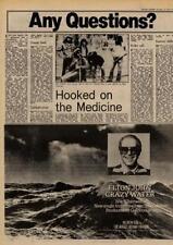 Elton John Crazy Water Rocket Record UK '45 advert 1977 MM-ZXCV
