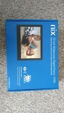 Nix X10H 10 inch Digital Photo Frame Black, Boxed & Complete, VGC