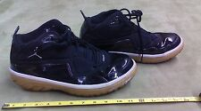 2009 Nike 364693-001 Jordan Elements Size 12 Basketball shoes black white yellow