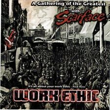 SCARFACE - Work Ethic (CD 2011) Cabrone Aslyah T-Boi Malice Mr. Low Key D. Will