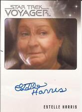 Rittenhouse Star Trek Voyager Quotable autograph auto Estelle Harris