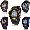 Boy's Multifunction Digital LED Quartz Alarm Date Sports Waterproof Watch