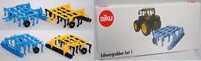 Siku Farmer 1957 Set-Schwergrubber himmelblau und gelb/schwarz, 1:32