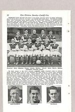 Team Pic from 1953-54 Football Annual - BURNLEY