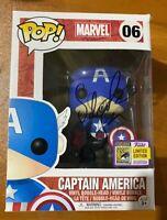 Sebastian Stan Signed SDCC Bucky Cap Captain America 06 Funko Pop - JSA NN49006