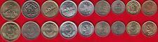 Pakistan set of 9 coins: 25 paisa - 10 rupees 1980-2017 UNC