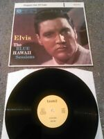 ELVIS - STEPPIN' OUT OF LINE / THE BLUE HAWAII SESSIONS LP EX!!! LAUREL LPM 2427