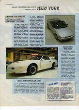 Z56 Ritaglio Clipping 1990 Pontiac Firebird Trans Am Mercury Capri