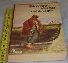VERGA Giovanni - I MALAVOGLIA - Mondadori Oscar - libri usati