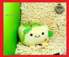 JAPANESE HANNARI TOFU PLUSH MOBILE PHONE STAND *(Green)