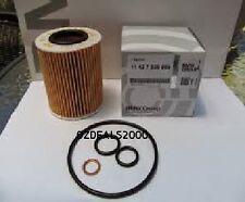 BMW GENUINE ENGINE OIL FILTER FITS E87 E88 E46 E90 E91 BY BMW AUSTRALIA NEW