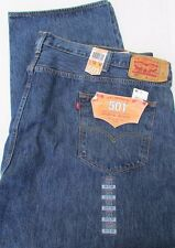 NWT Levi's 501 Jeans Original Fit Big & Tall Straight Leg Sz W 54 x L 30