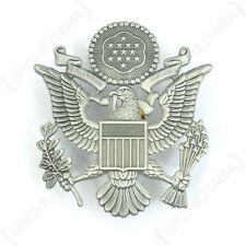 USAF Officer Visor Cap Badge - Air Force American US Insignia Uniform Pilot New