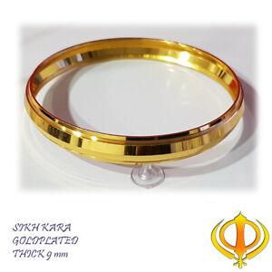 KARA gold plated Stunning  Traditional Sikh Kara Punjabi Singh kada