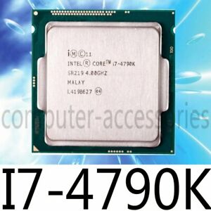 Intel Core i7-4790K 4.00 GHz Quad-Core 88W LGA1150 SR219 CPU Processor