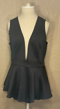 Forever 21 Black Jumpsuit SLVLS OX