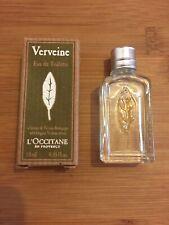 L'OCCITANE Verbena Eau De Toilette Verveine 10ml New Boxed Travel Size Perfume