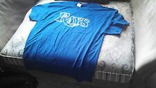 TAMPA BAY RAYS 100% COTTON T SHIRTS SIZE XL UP TO TWELVE GREAT PRICE