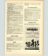 1968 Paper Ad Playbaby Toys Holland Hall Gingham Dog Calico Cat Winnie Pooh