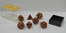 Dungeons & Dragons Fantasy 16mm 7 Piece Dice Set: Speckled Mercury 25323