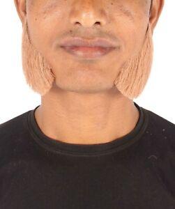 Men's Human Hair Side Burns Cosplay Facial Hair M-1290