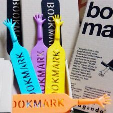 """4pcs Cute """"HELP ME"""" Hand Bookmark Novelty Ducument Book Marker Label Stationery"""