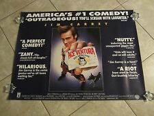 Ace Ventura movie poster - Jim Carrey original 1 sided UK Quad