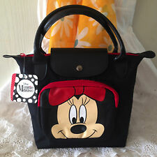 DISNEY MINNIE MOUSE Handbag Clutch Purse Tote Shopper Bag W 31 x H 22 cm (S).