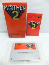 """ MOTHER 2 "" SFC SNES EARTHBOUND SUPER FAMICOM BOXED JAPAN -2"