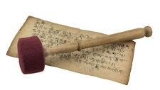 Baton Mailloche Maillet Feutre Ø 65mm m 28 cm pour bol chantant Gong 25282