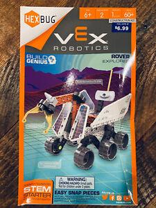 HEXBUG Vex Robotics Space Rover Explorer STEM Engineering Science Tech Kit 60+