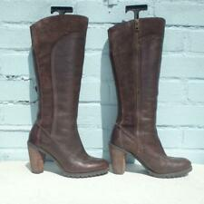 Timberland Leather Boots UK 5.5 Eur 38.5 Womens Ladies Sexy Brown Suede Boots