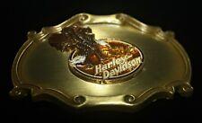 "Harley Davidson VINTAGE Belt Buckle 1978 75th Anniversary ""Made in USA"" Raintree"