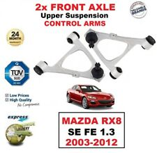 2x FRONT AXLE Upper SUSPENSION CONTROL ARMS for MAZDA RX8 SE FE 1.3 2003-2012