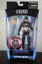 CAPTAIN AMERICA Worthy Walmart Exclusive Marvel Legends Avengers Endgame MJOLNIR