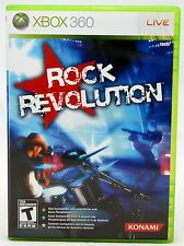 RE-SEALED Rock Revolution XBOX 360 Video Game Korn Metallica Linkin Park band