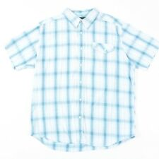 VGC Vintage WRANGLER Blue Check Shirt | Mens L | Cowboy Western Retro Plaid