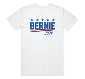 Bernie Sanders 2024 T-shirt Top Feel The Bern USA Election President Trump Vote