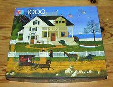 1991 Charles Wysocki PICKWICK COTTAGE Americana Sea 1000 Jigsaw Puzzle 4679-20