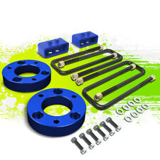 """2""""F SPACER+2""""R BLOCK LEVELING LIFT KIT FOR 04-17 FORD F150 4WD 4X4 TRUCK BLUE"""