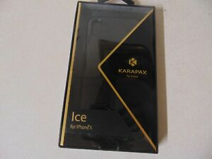 PHONE CASE BY KARAPAX BY ANKER FOR APPLE IPHONE X BLACK A9010011
