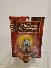 Zizzle 2007 Pirates Of Caribbean At Worlds End Gibbs Figure New in Package