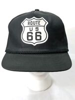 US ROUTE 66 EAGLE WING BALL CAP HAT NAVY NEW