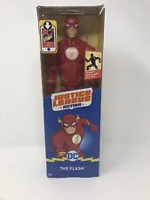 "Mattel Justice League The Flash action figure 12"" posable DC comics new in box"